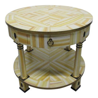 Hand Lacquered Table by Alessandro for Baker For Sale