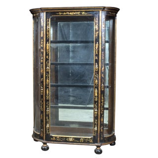 Late 1800s Chinoiserie Display Cabinet For Sale