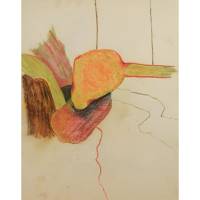 Abstract Abstract Color Pencil Drawing For Sale - Image 3 of 3