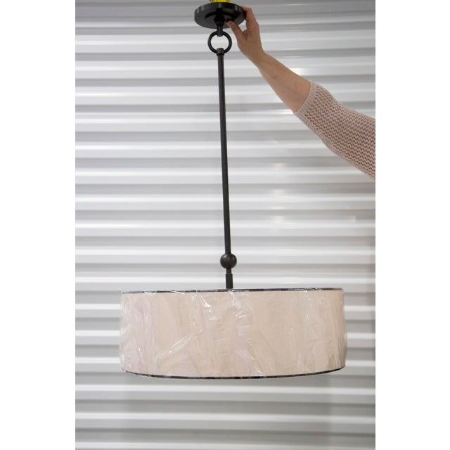 Thomas O'Brien Reed Pendant Light For Sale - Image 5 of 5