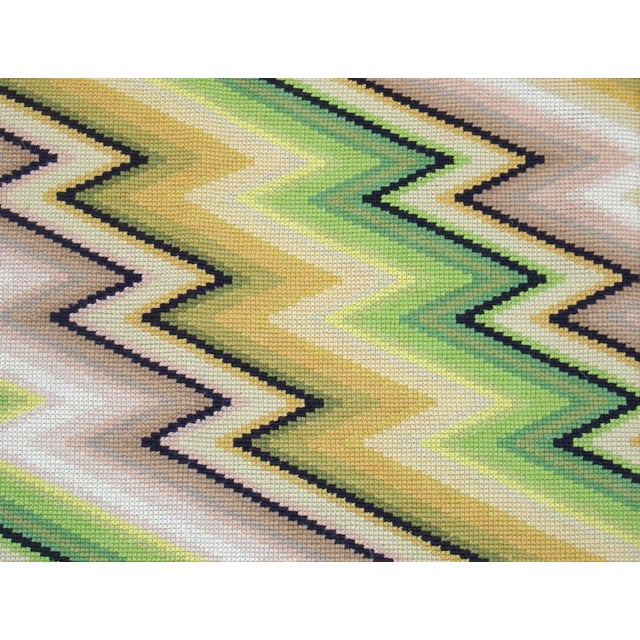 This eye-dazzling piece from the mid-20th century would work perfectly on the floor or the wall, either horizontally or...