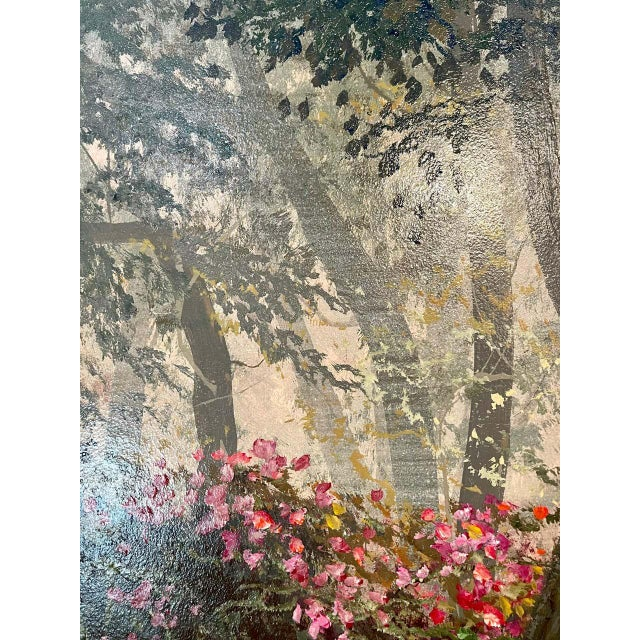 Juan Archuleta Gates and Garden Painting For Sale - Image 11 of 13