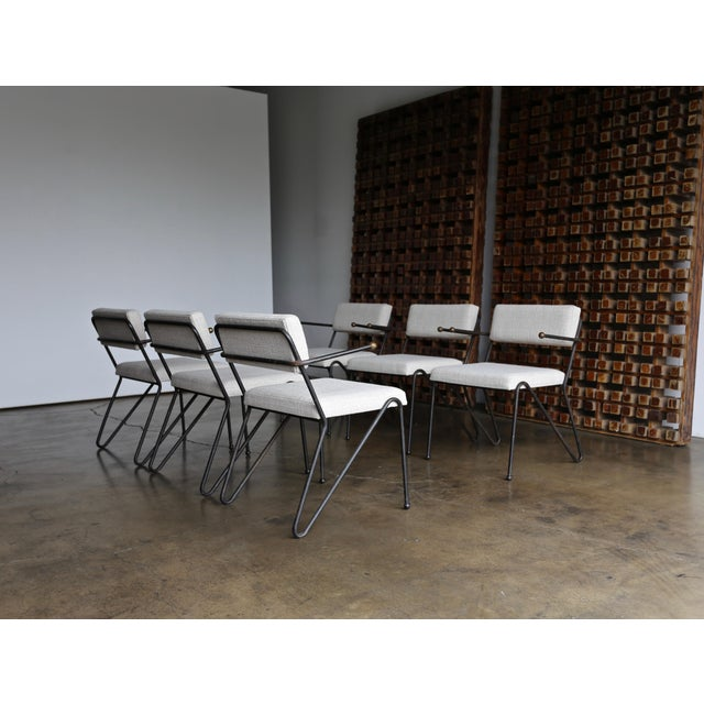 George Kasparian George Kasparian Dining Chairs, Circa 1950 For Sale - Image 4 of 11