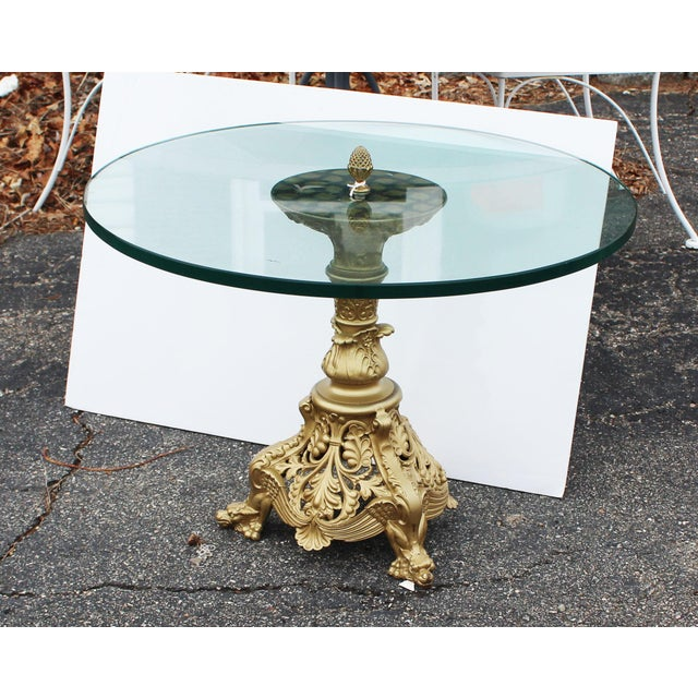 Gilt Art Nouveau Table For Sale In New York - Image 6 of 8