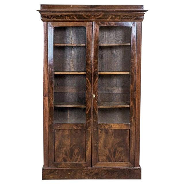 Biedermeier Bookcase, Circa 1850 For Sale