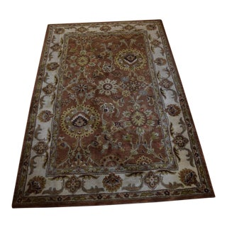 Jaipur Area Wool Rug - 5′6″ × 8′6″