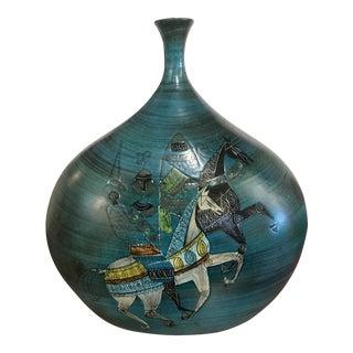 Jean De Lespinasse Hand Thrown Terracotta Vase Signed Jdl For Sale