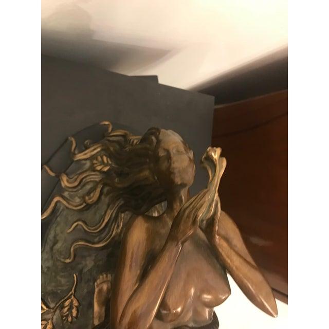 "1984 Erte Ltd Ed ""Perfume"" Bronze Sculpture by Romain De Tirtoff For Sale In New York - Image 6 of 13"