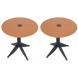 A Set of Painted Gueridon Tables Sold Individually For Sale