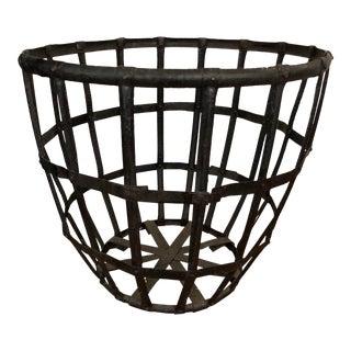 Metal Rustic Firewood Basket