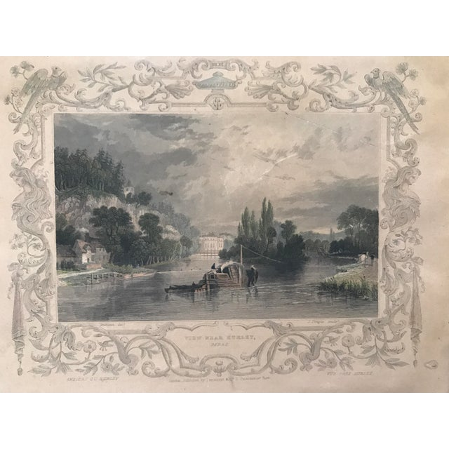 Antique Framed Prints by William Tombleson - Set of 4 - Image 8 of 11