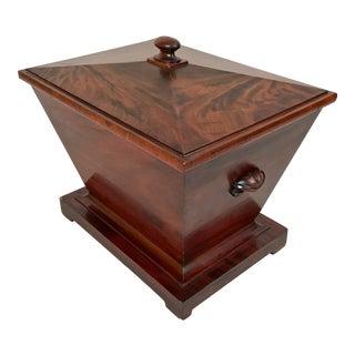 18th Century Georgian Mahogany Cellarette For Sale