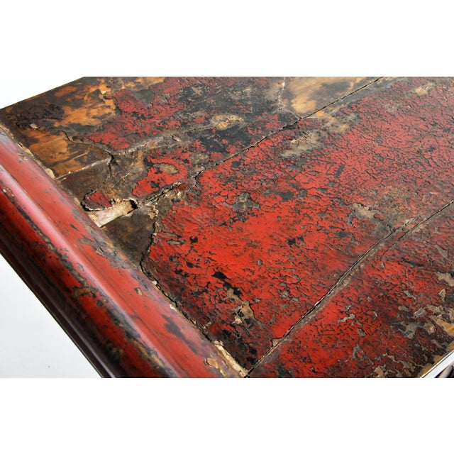 Late Qing Dynasty Chinese Altar Table For Sale - Image 12 of 13