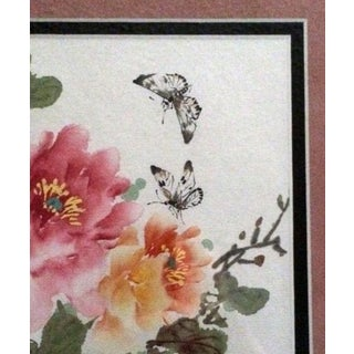 """Early 21st Century Original Chinese """"Spring"""" Watercolor by Gu XI Liang Preview"""