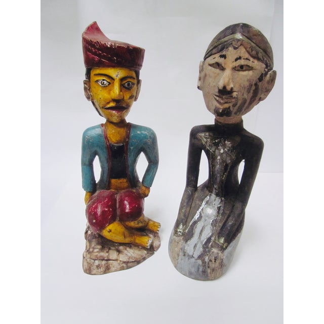Global Boho Pair Statues - Pair - Image 2 of 9