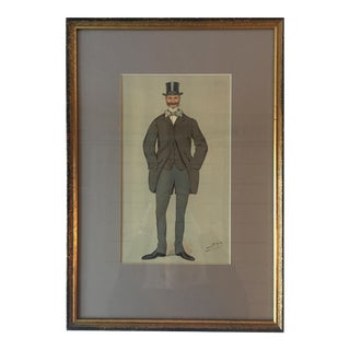 """Spy"" Vanity Fair Caricature Lithograph"