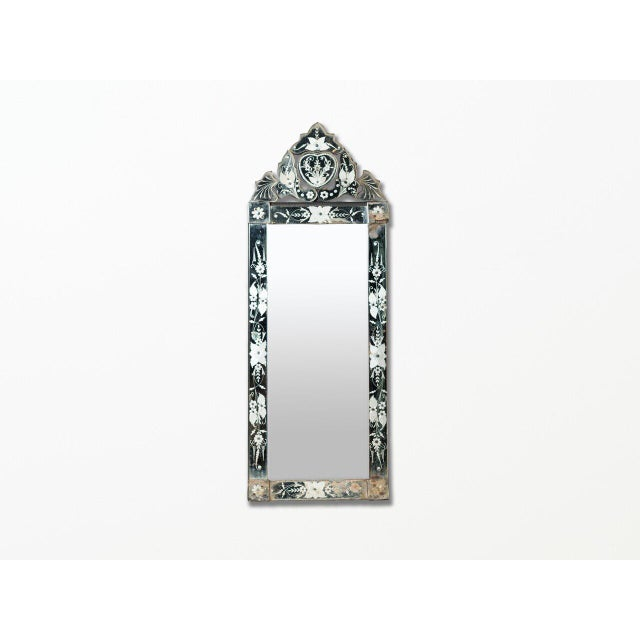 Late 19th Century Antique Venetian Mirror For Sale - Image 5 of 5