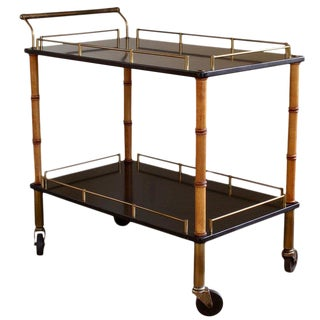 Mid-20th Century Bar Cart