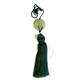 Jade Green Silk Tassel For Sale