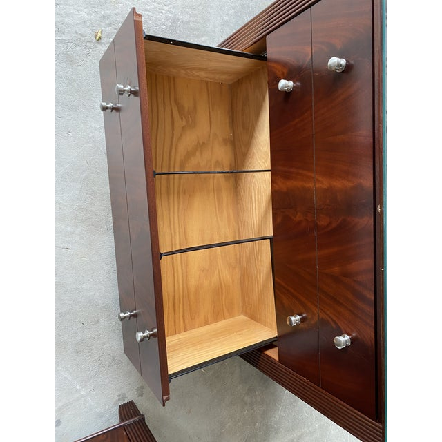 Sligh Mahogany File Cabinet For Sale In New York - Image 6 of 8