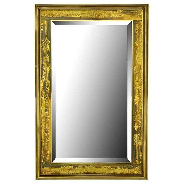 Acid Etched Mirror by Bernhard Rohne Mastercraft - Image 1 of 5