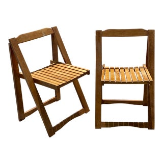 Aldo Jacober Folding Chairs For Sale