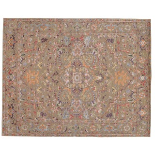Pasargad N Y Modern Wool & Bamboo Silk Hand Knotted Area Rug - 8' X 10' For Sale