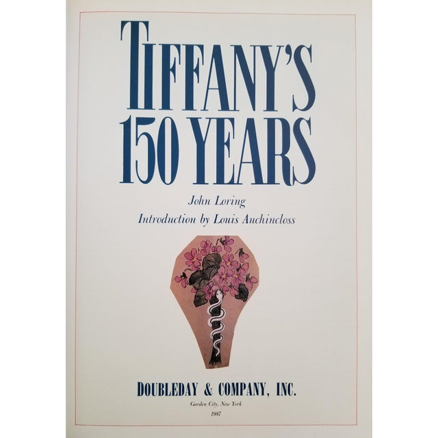 Americana Tiffany's 150 Years by John Loring, First Edition 1987 For Sale - Image 3 of 12