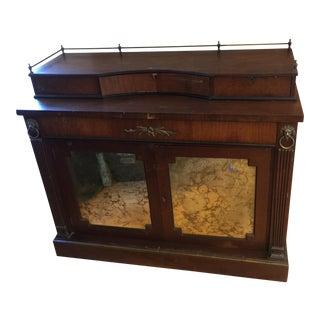 Art Deco Wooden Buffet With Brass Lion Buffet For Sale
