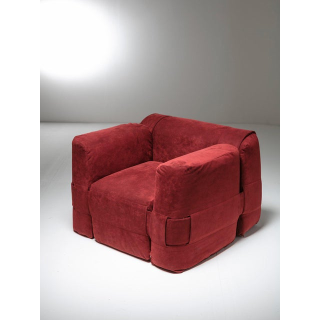 Fabric '932' Easy Chair by Mario Bellini for Cassina For Sale - Image 7 of 7