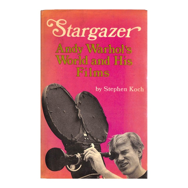 Stargazer: Andy Warhol's World and His Films Book - Image 1 of 5