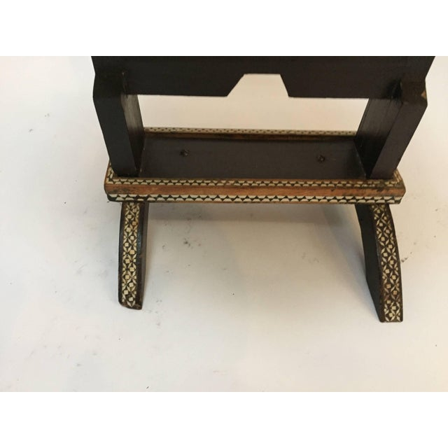 Islamic Egyptian Octagonal Side Table For Sale - Image 3 of 9