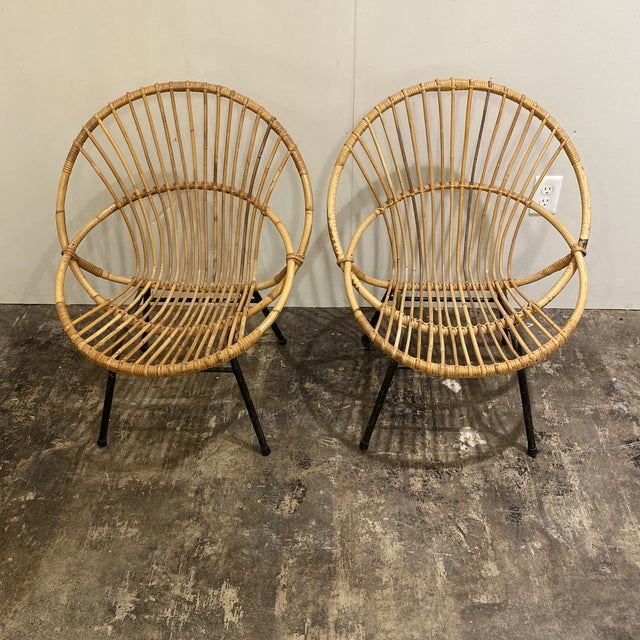 Mid Century Chairs - a Pair For Sale - Image 9 of 9
