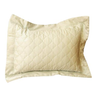 Matouk Pillow Sham in Wonderful Opal Colorway With Insert For Sale