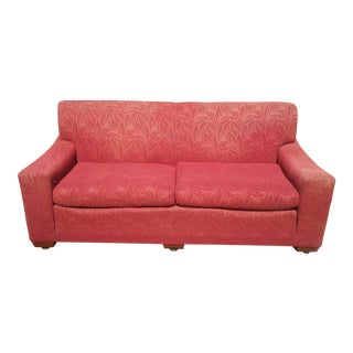 Vintage 1950 Kroehler Embossed Sofa For Sale