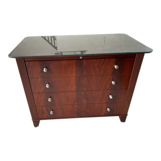 Sligh Mahogany File Cabinet For Sale