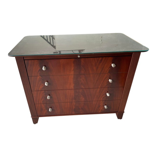 Sligh Mahogany File Cabinet For Sale