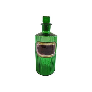 Antique English Apothecary Bottle Preview