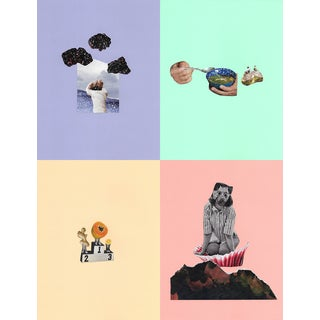 """Still Life"" Set of Collages - Set of 4 For Sale"