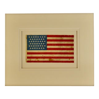 Antique 45 Star Flag - Circa 1896 For Sale