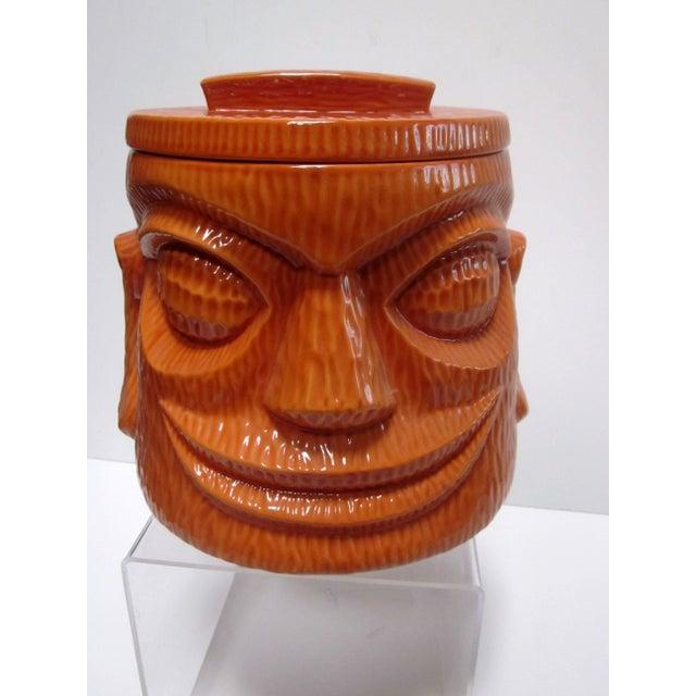 Large Tiki Cookie Jar - Image 3 of 8