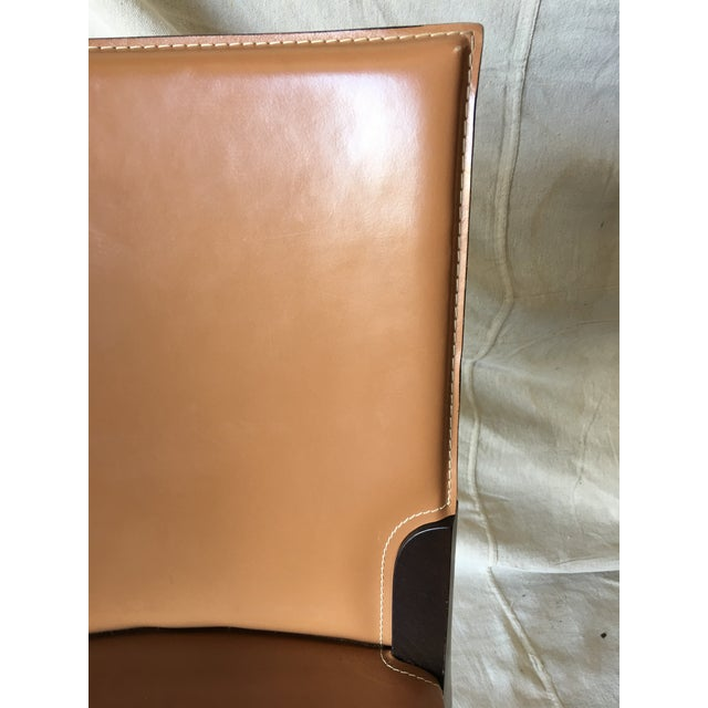 2010s Leather Dining Chairs by Cattelan Italia - Set of 6 For Sale - Image 5 of 13
