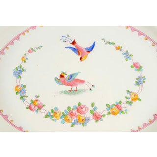 "1950s George Jones & Sons Paradise Pink 18"" Oval Serving Platter Preview"