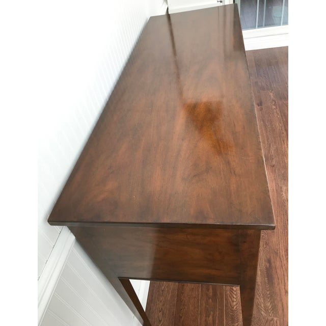 1950s Kittinger Colonial Williamsburg Mahogany Hepplewhite Sideboard For Sale - Image 9 of 13