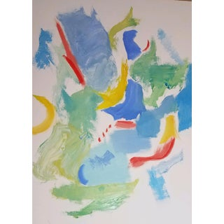Modern Abstract Oil Painting For Sale