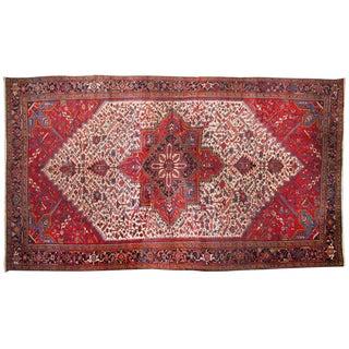 """Vintage Mehrivan Carpet - 11'8"""" X 21'4"""" For Sale"""