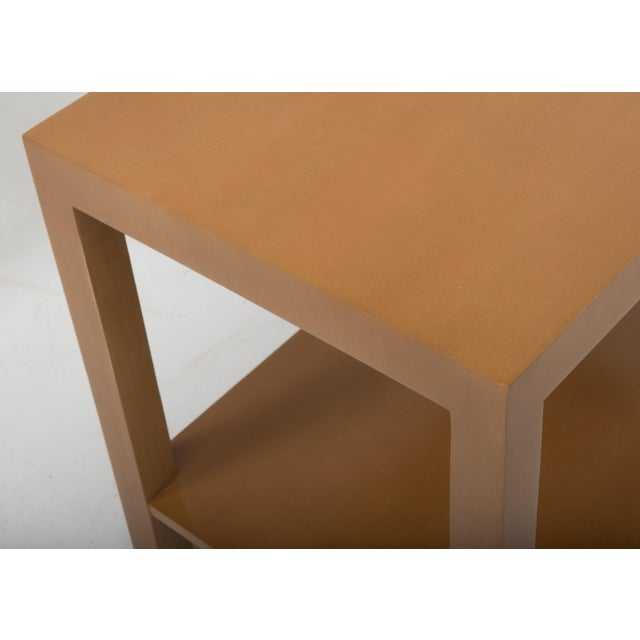 T.H. Robsjohn Gibbings Widdicomb Parsons End Tables - a Pair 1949 For Sale - Image 9 of 13
