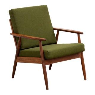 Danish Modern Teak Lounge Chair For Sale
