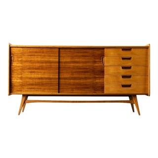 Vintage Mid Century Modern Swedish Sideboard For Sale