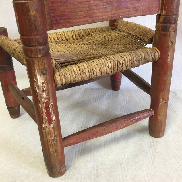 Antique Child's Chair For Sale In South Bend - Image 6 of 8 - Antique Child's Chair Chairish